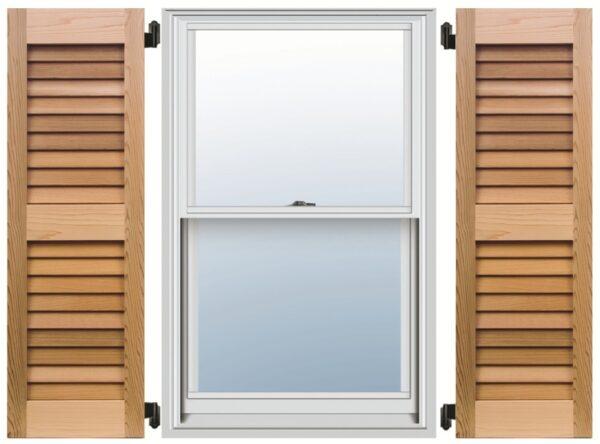 wooden exterior shutters