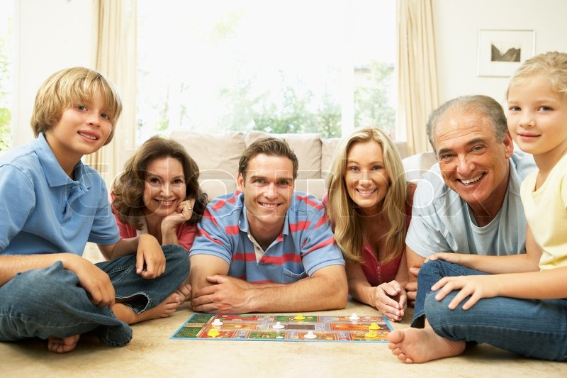 Games to play with family at home