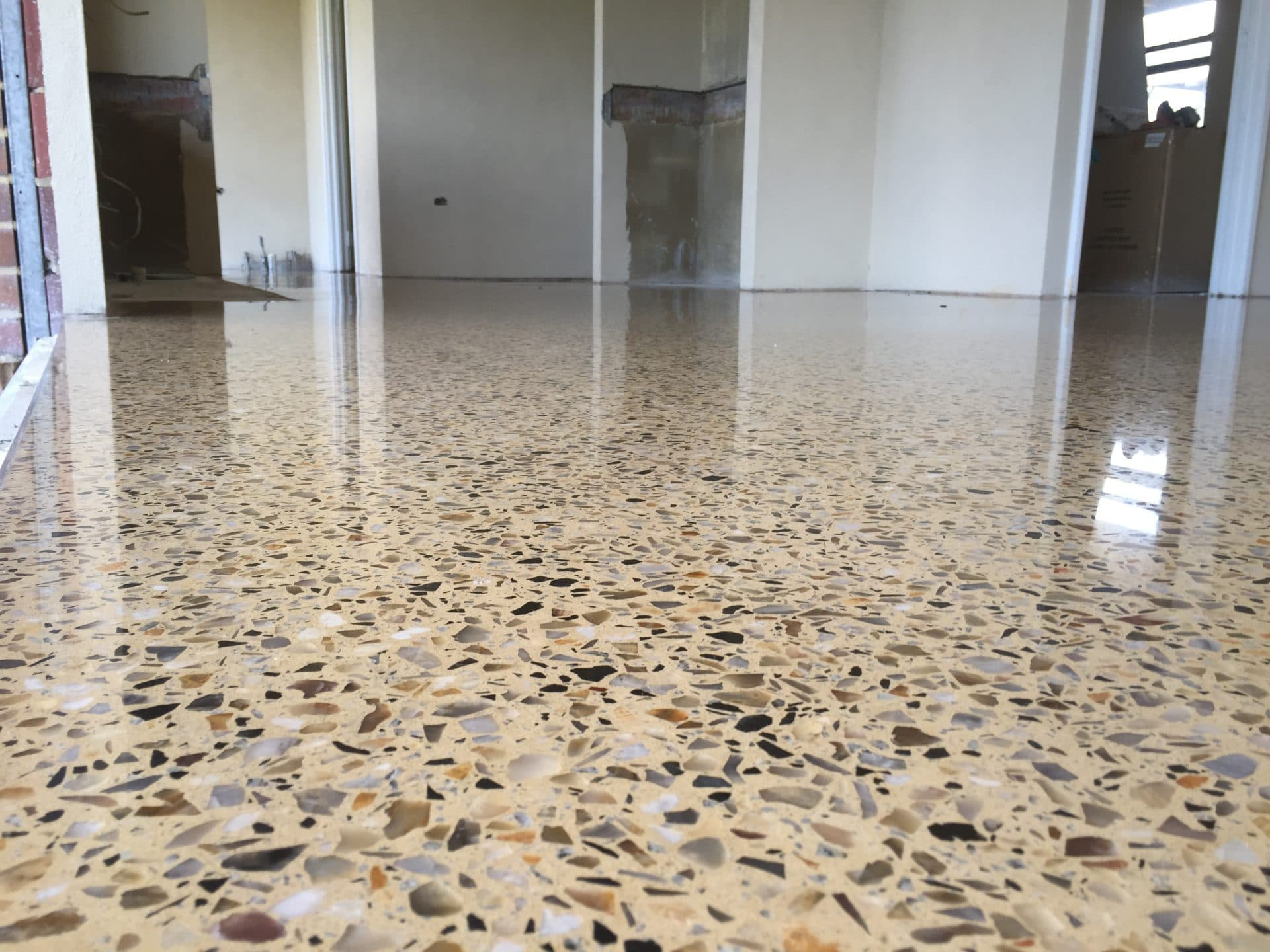 Information about polished concrete flooring