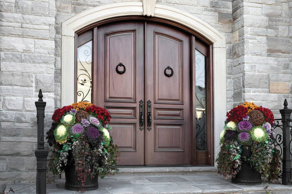 custom exterior wood doors.