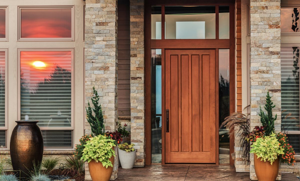 how much work goes into replacing the front door