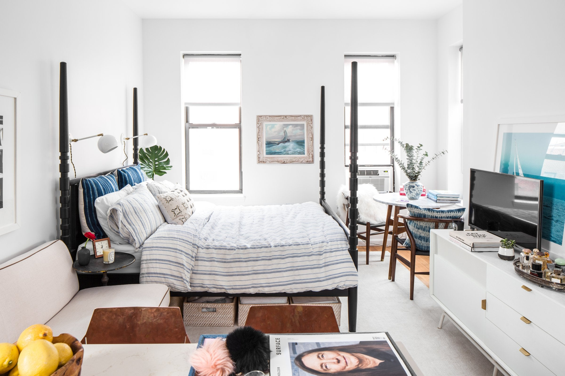 5 decorating hacks for small apartments