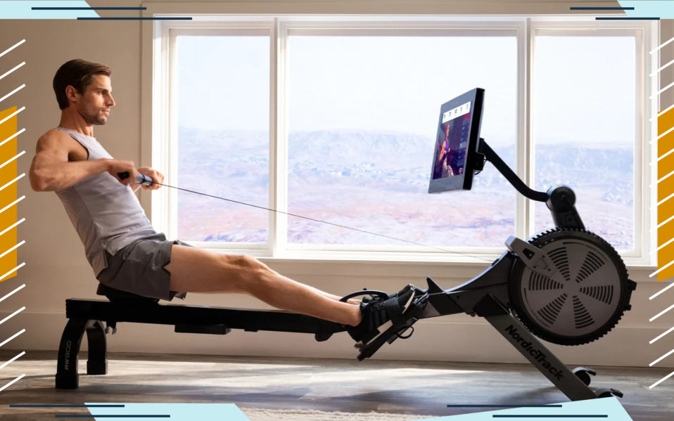 Get a rowing machine for your home