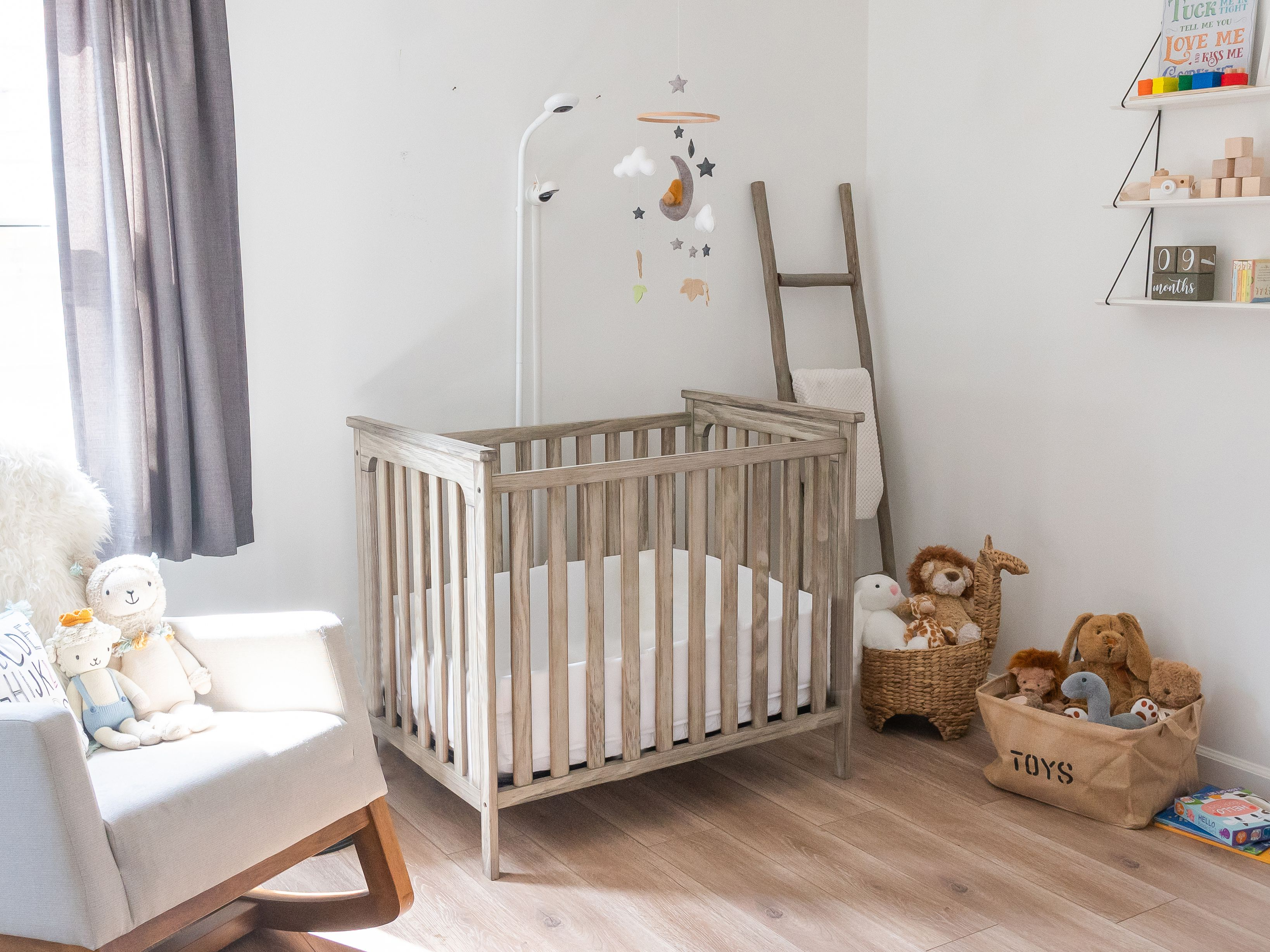 How to create a correct zoning in your baby's nursery