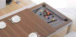 How to make a billiard table to the dining table