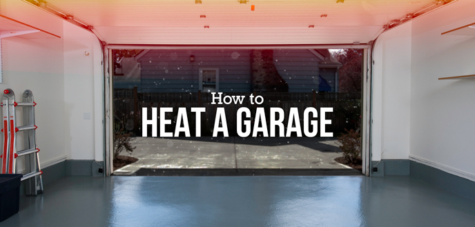 Keep your garage warm for winter
