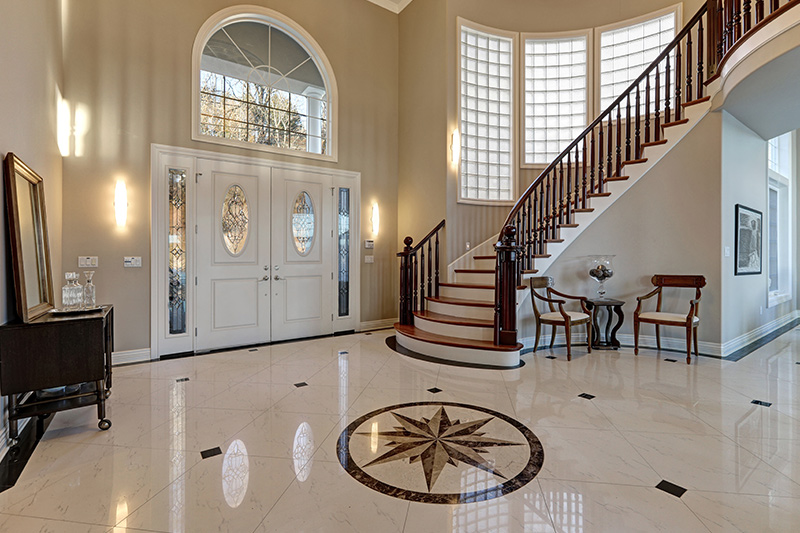 The best modern marble design in the hall