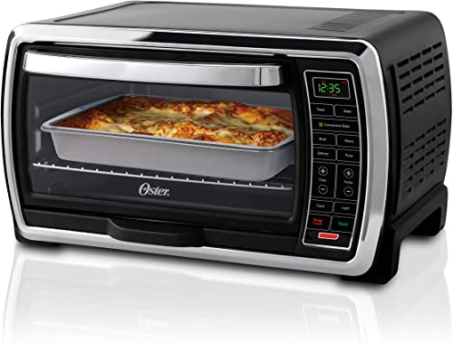 toaster oven with top up doors